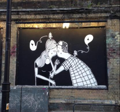 Alex Senna for London Art Walls